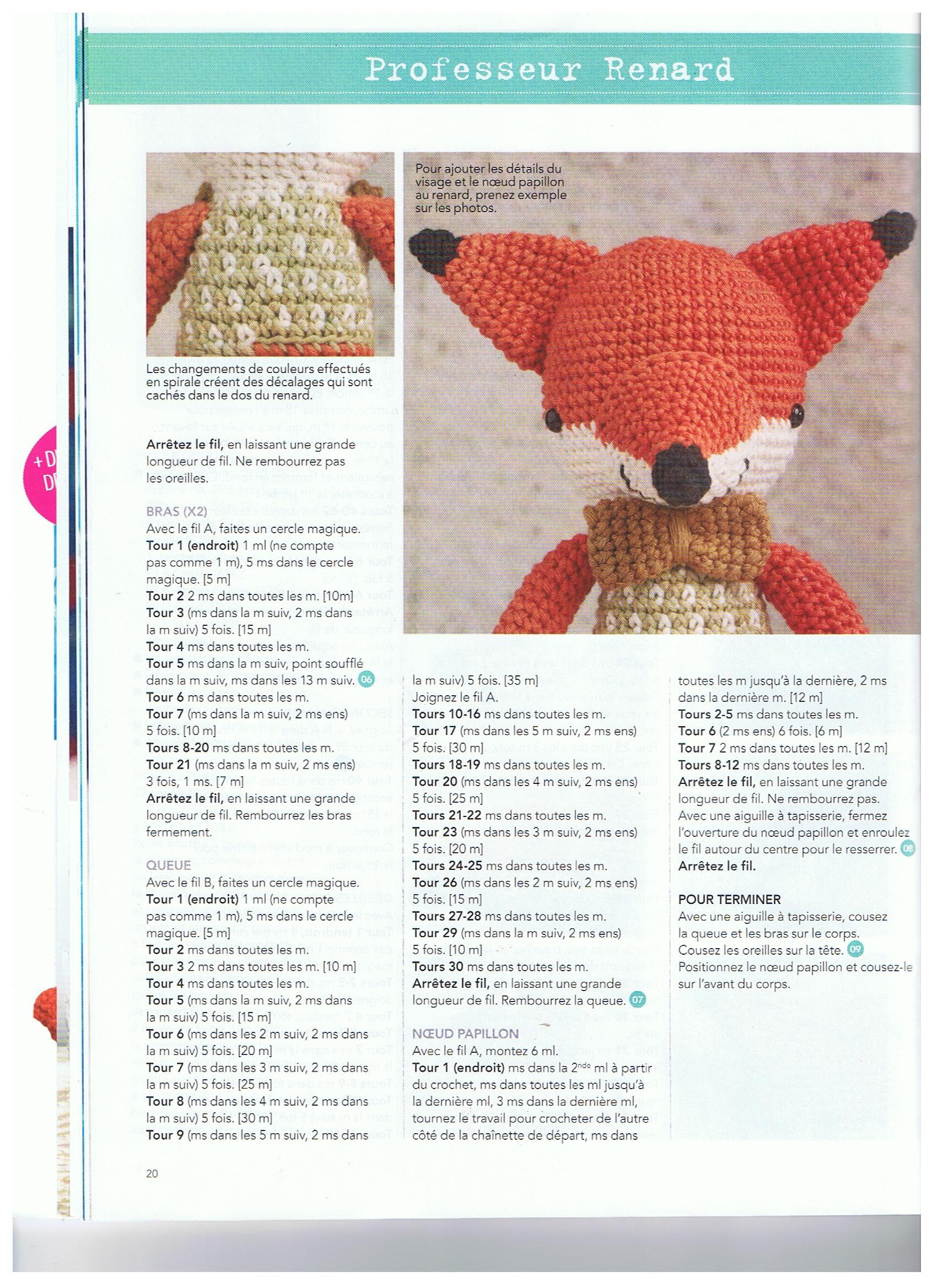 60 Modeles Adorables Amigurumis A Realiser Au Crochet Des Projets A Croquer