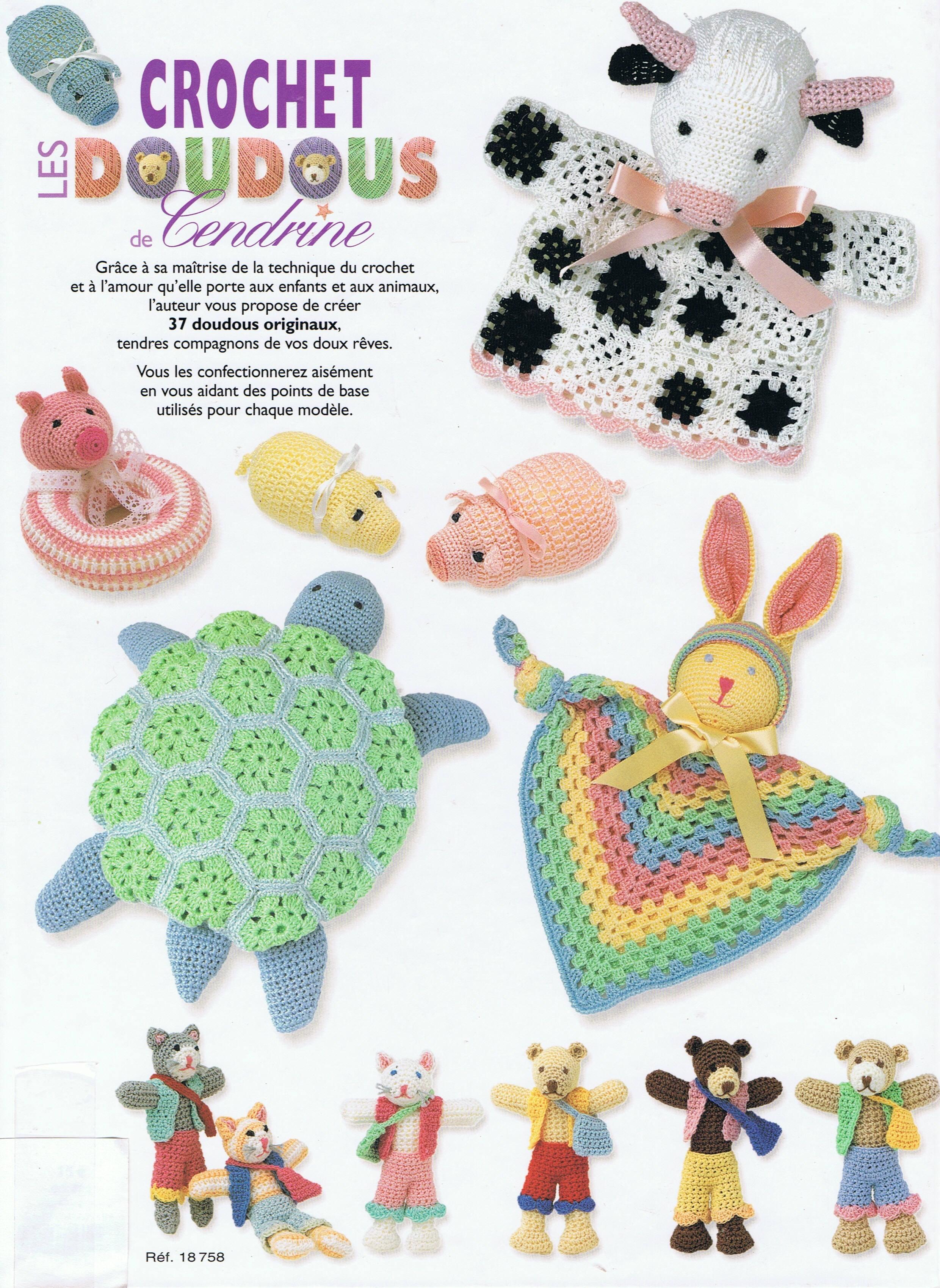 Télécharger Livre Crochetles Doudous De Cendrine Volume1