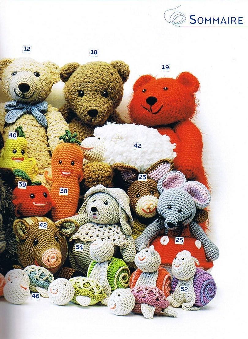 Tutos Modèles Livre Crochet Les Doudous De Cendrine Volume1