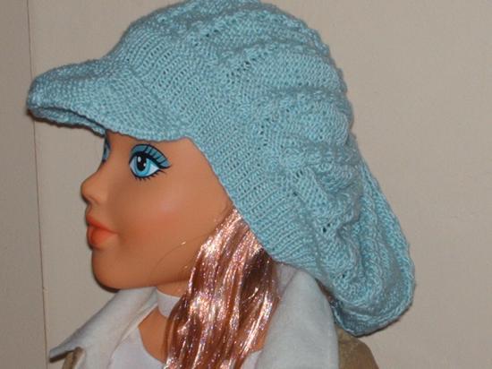 Comment tricoter une casquette femme - Comment faire une boutonniere au tricot ...