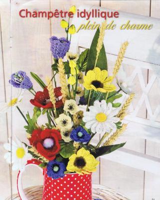 Bouquet de Fleurs Champètre Idyllique