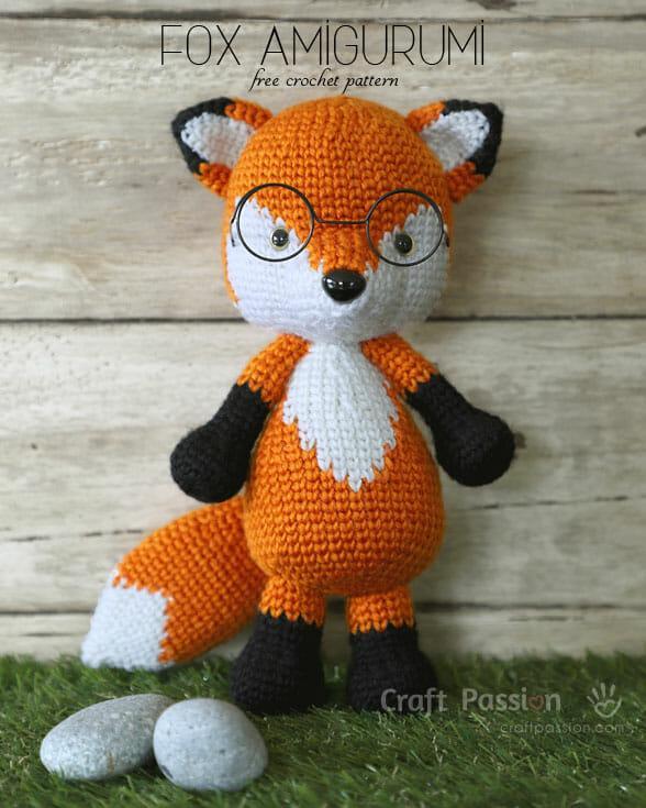 Amigurumi fox main