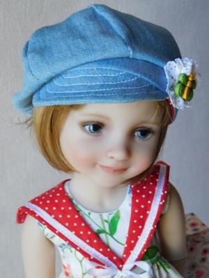 Casquette poupee couture chez blog ma p tite ecole de couture