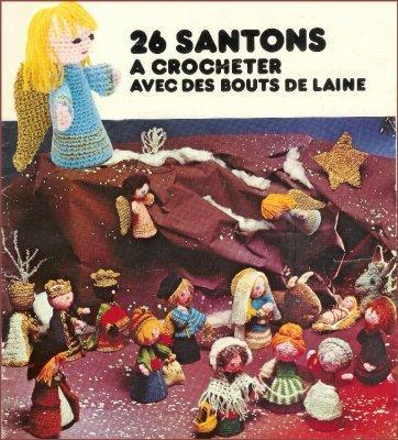Catalogue 26 santons au crochet