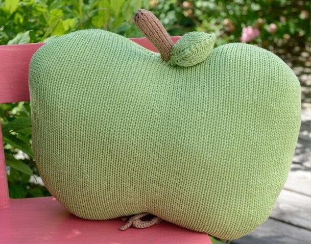 Coussin pomme