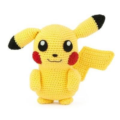 Crochet pattern pikachu pokemon amigurumi