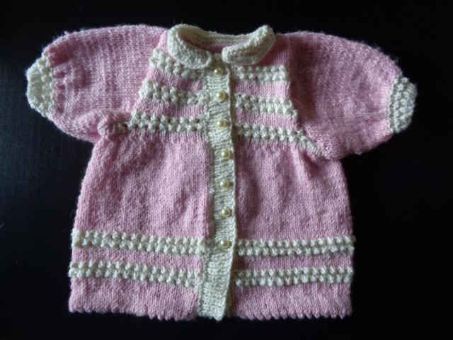 Paire De Chaussons Baby Shoes Baby & Toddler Clothing Sandales Coton Tricote Pour Bebe Naissance Creme