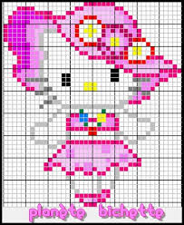 Hello kitty broderie diagramme 6