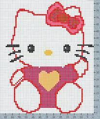 Hello kitty broderie diagramme 8