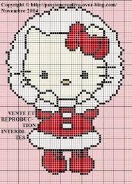Hello kitty broderie diagramme 9