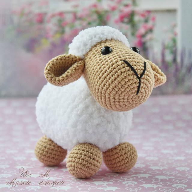 Image mouton amigurumi