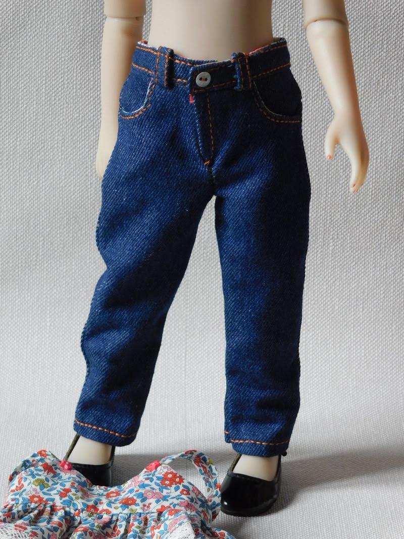 Jeans poupee