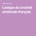 Lexique americain francais 1