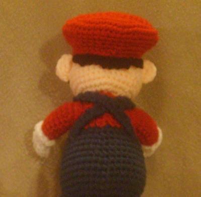 Marioback vue de dos