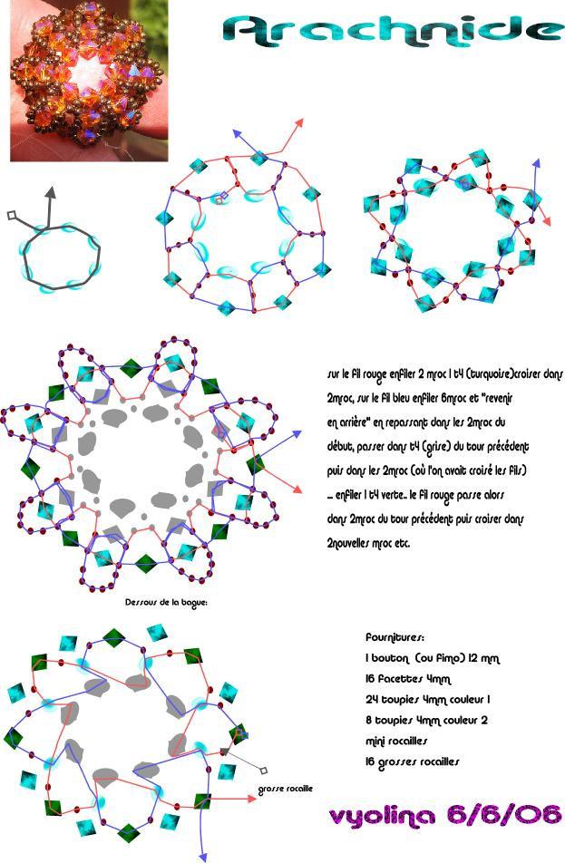 Modele schemas arachnide schema