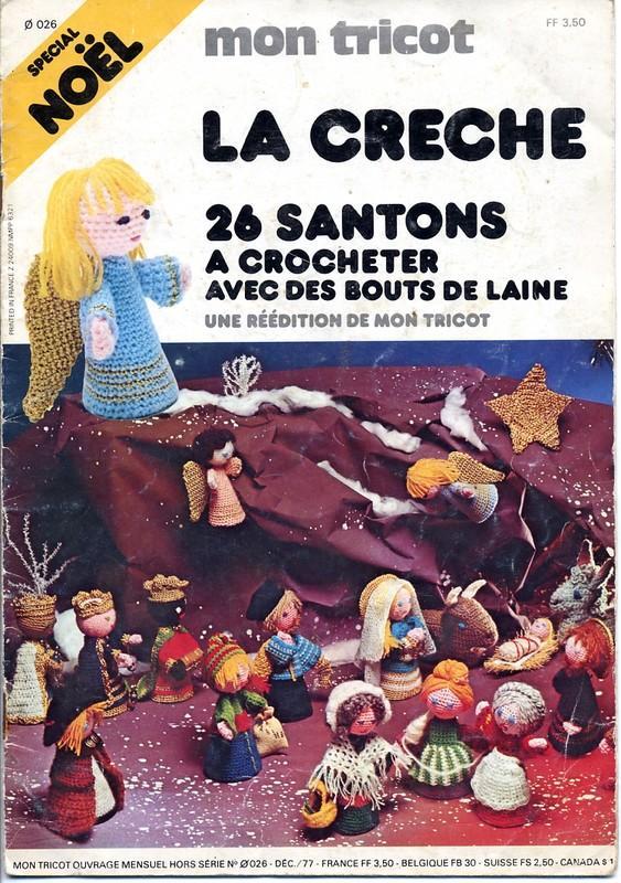 Modeles mon tricot 26 santons au crochet