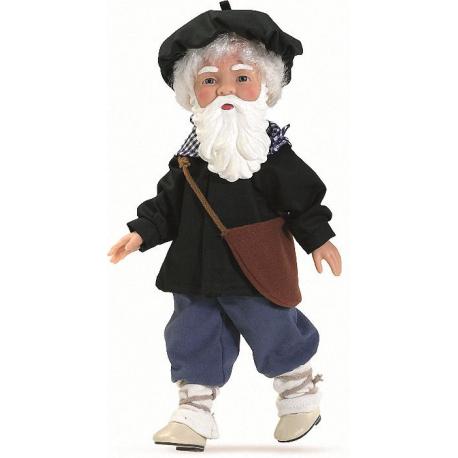 Olentzero con barba