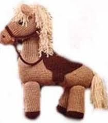 Poney tricot