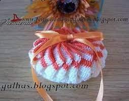 Sachet pour savon oval modele de crochet gratuit