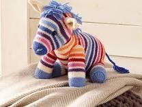 Zebre en tricot